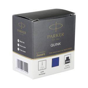 Parker Quink Bottled 30ml Black Colour Permanent Accessories