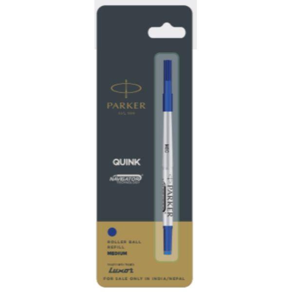 Parker Quink Navigator Roller Ball Pen Refills (Cone Tip) 0.7mm Black Accessories