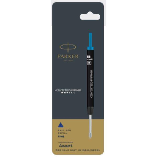Parker Systemark Ball Pen Refills 1.0mm Blue Accessories