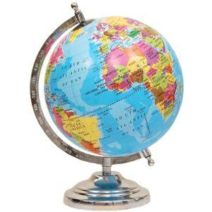 Educational Political Laminated 8 Inches Rotating Globe