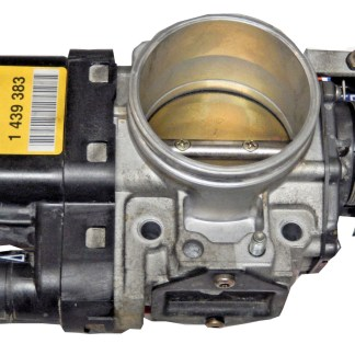 98-01 BMW e39 e46 323i 328i 528i Z3 Throttle Body 1 439 383 Yellow A Label