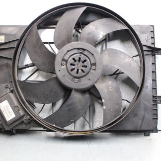 Mercedes Benz 01-04 W203 C320 CLK320 Engine Radiator Cooling Fan Motor Shroud OEM