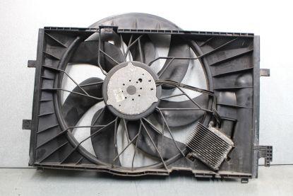 Mercedes Benz 01-04 W203 C320 CLK320 Engine Radiator Cooling Fan Motor Shroud OEM