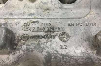 BMW E90 E60 6-Cyl N52 Engine Cylinder Head Valve Cover Magnesium 2005-2007 OEM