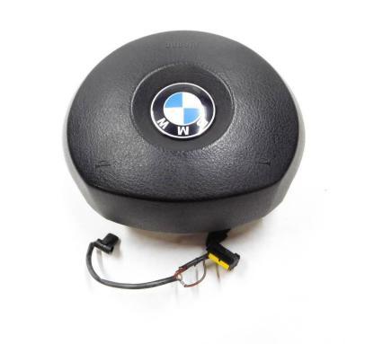 2004-2006 BMW X3 X5 (E53 / E83) 3 SPOKE STEERING WHEEL AIRBAG AIR BAG (BLACK)