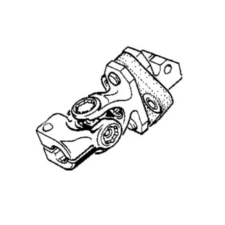 E30 318i/325i 88-92 Lower Steering Shaft Joint (Flex Disc)