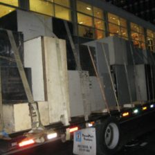 Transporting Bank Equipment