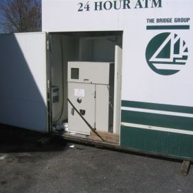 Removal of ATM from Kiosk