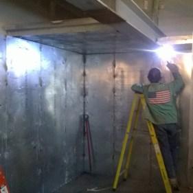 Welding Modular Vault