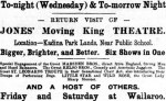 Jones's MM Theatre [KWT 21 Dec 1910, 3]