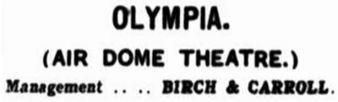 Olympia ad [MB 14 Nov. 1913, 2]