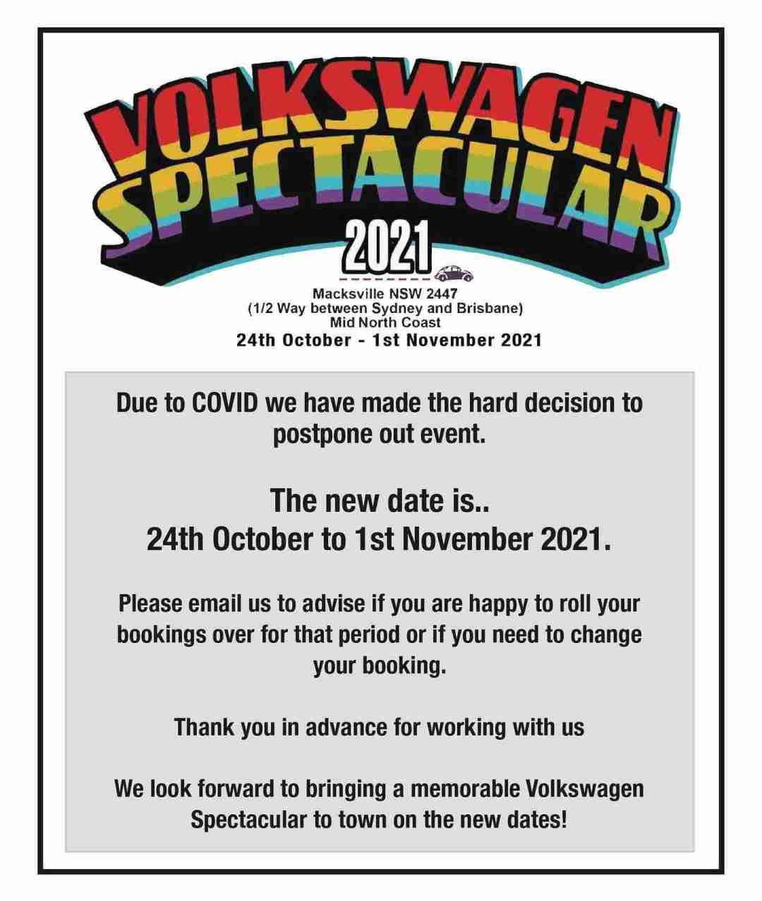 Volkswagen Spectacular Notice