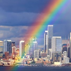 Rainbows Inspired Memories of the Wizard of Oz