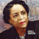 Edith S. Sampson, Attorney, United Nations delegate, circuit court judge
