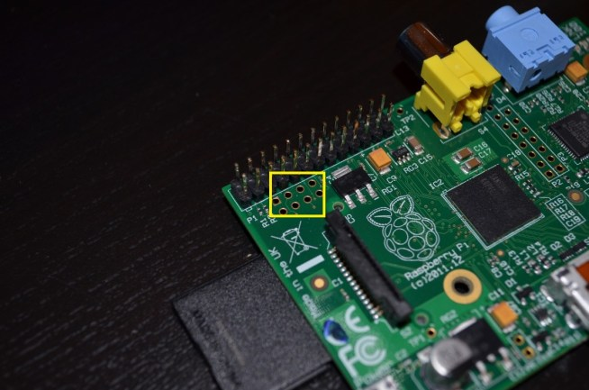 Raspberry Pi P5 header