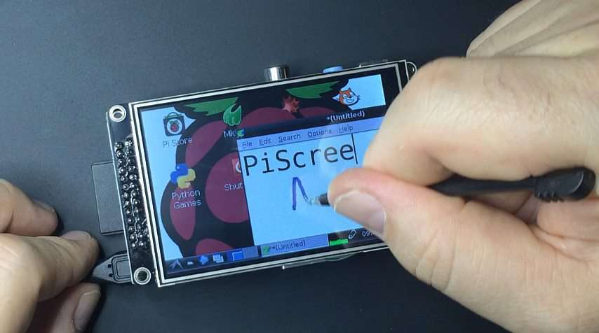 xstroke PiScreen Raspberry Pi