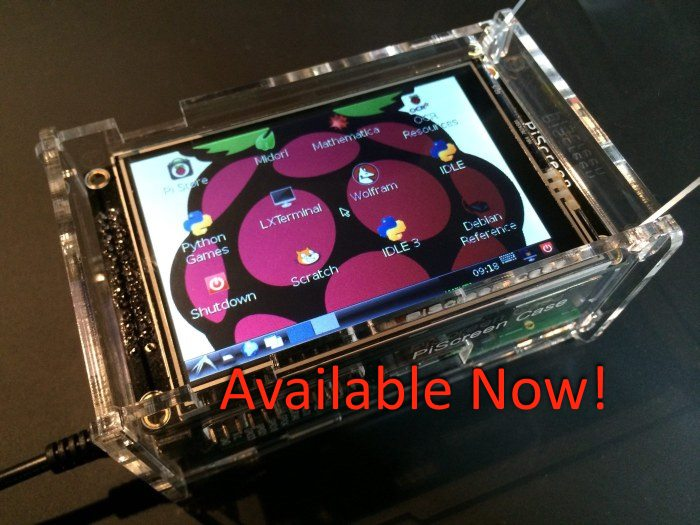 "PiScreen 3.5"" TFT for the Raspberry Pi"