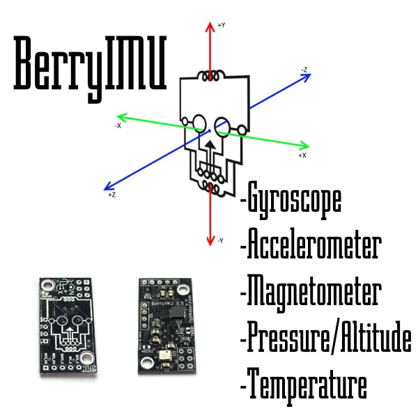BerryIMU Raspberry Pi