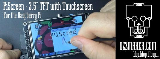 Raspberry Pi and TFT Display | ozzmaker com