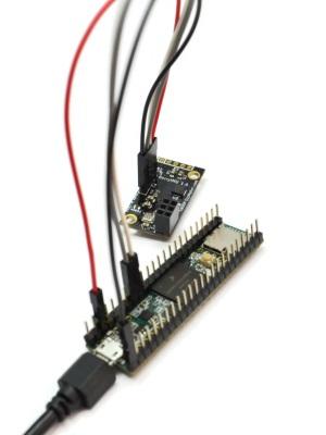 teensy accelerometer gyroscope