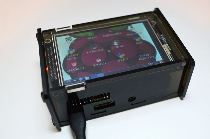 Raspberry Pi 2 Case PiScreen