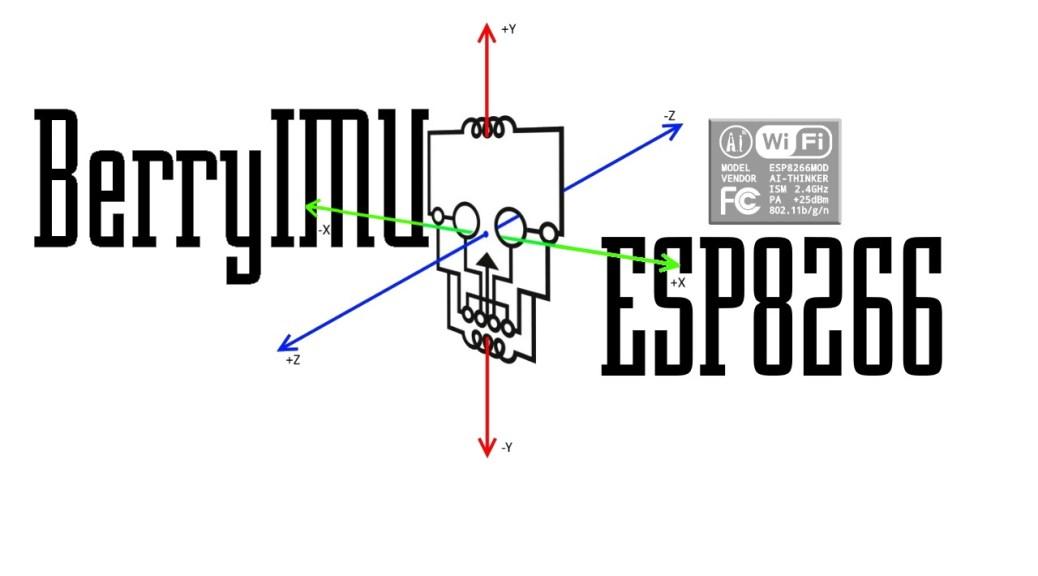 ESP8266 accelerometer and gyroscope