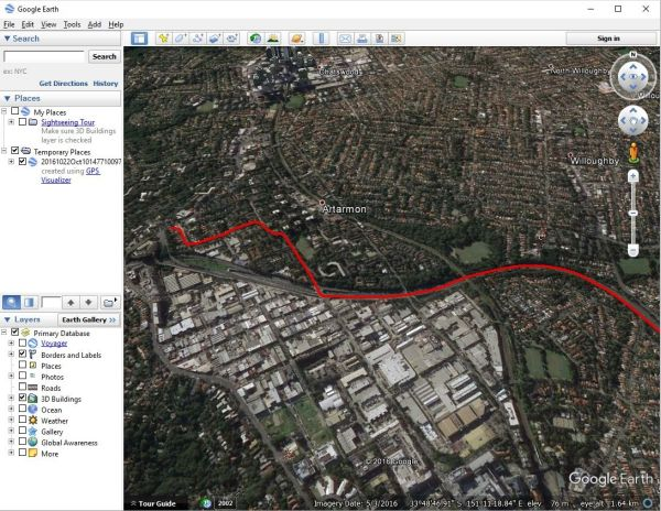 Raspberry Pi Google Earth