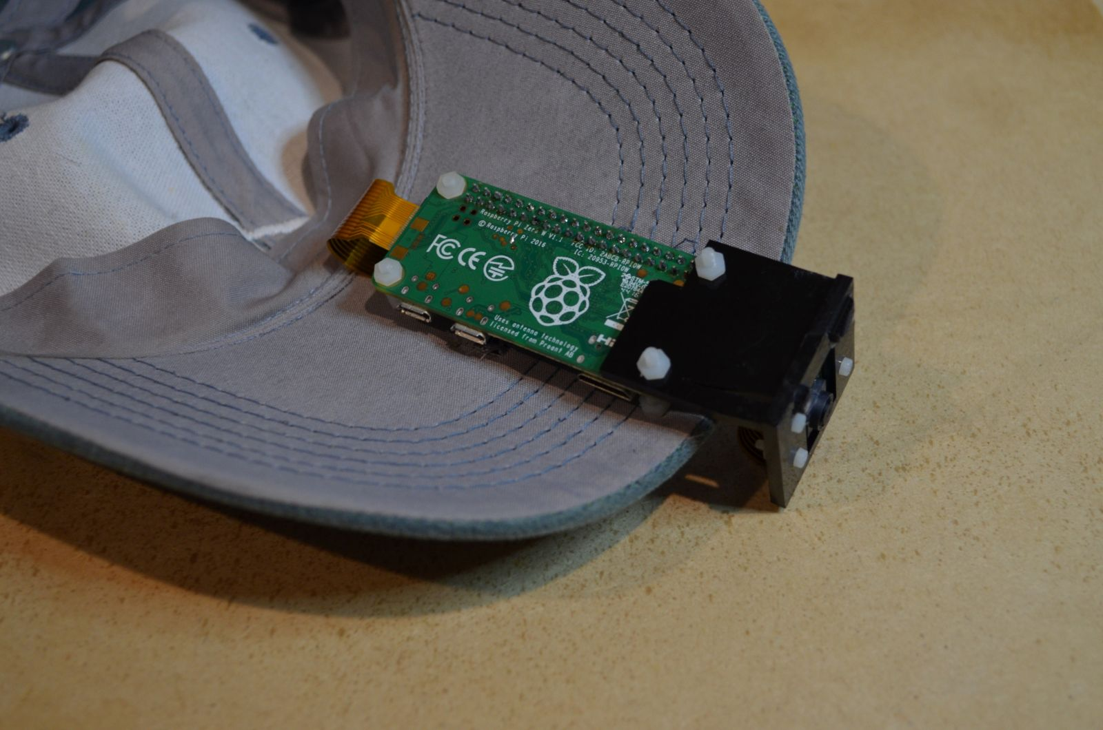 Raspberry Pi Embedded Cap With GPS & 10DOF | ozzmaker com