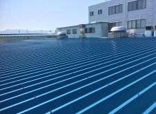 新発田市 S社様 工場 屋根塗装