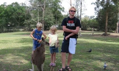 7/11 – Utflykt till Brisbanes djurpark
