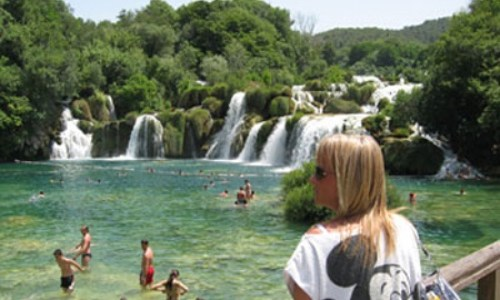 25/6 – Krka nationalpark