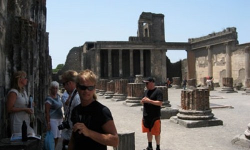 7/7 – Pompei, så intressant!!
