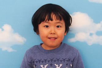 りくくん(3歳)