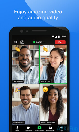 Our apps can only be do. ZOOM Cloud Meetings APK 4.1.27530.0627 - Free Business App