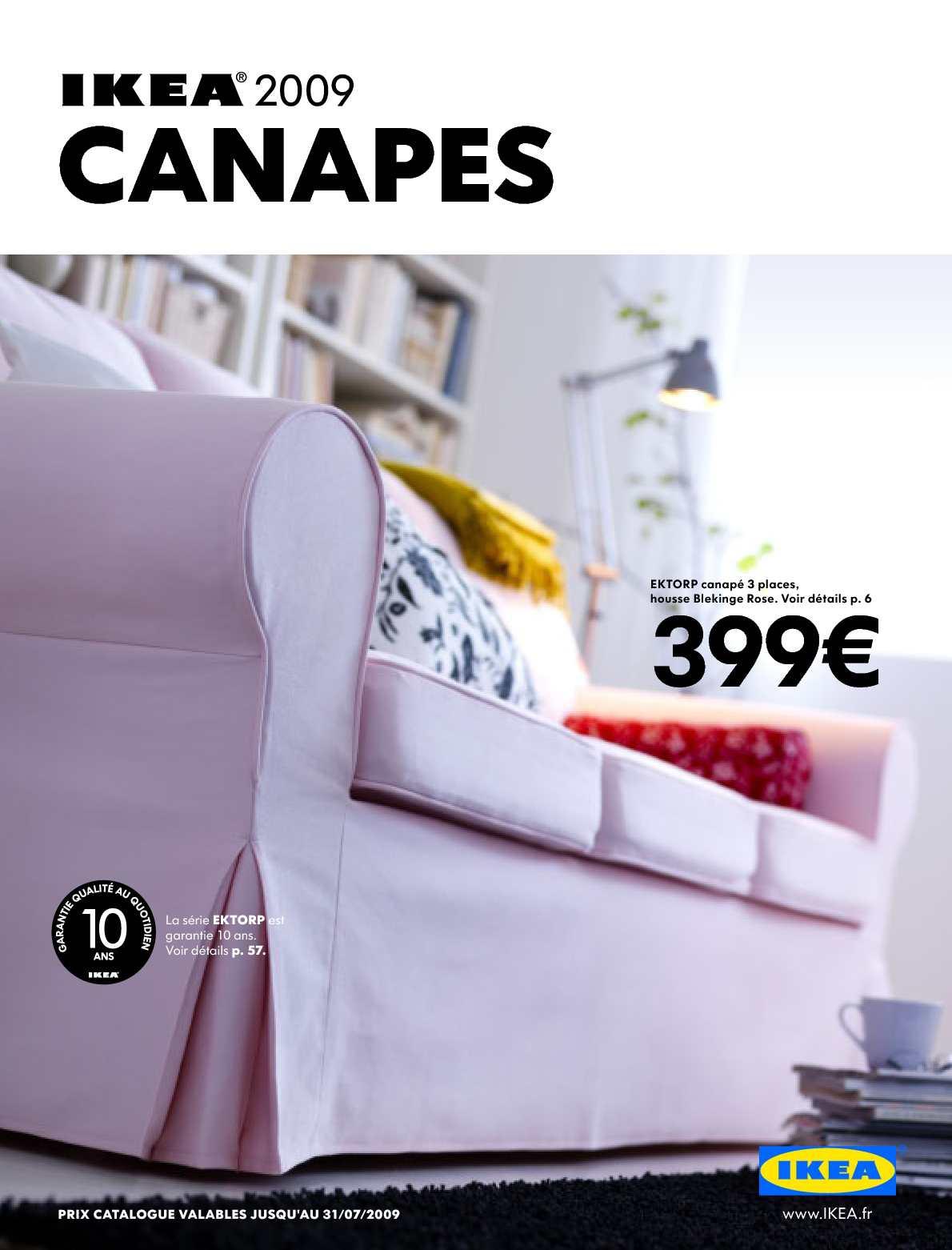 Calaméo Ikea 2009 Canapés Fr