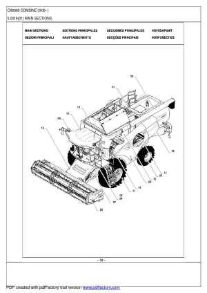 Calaméo  New Holland CX8030405060708090 каталог деталей