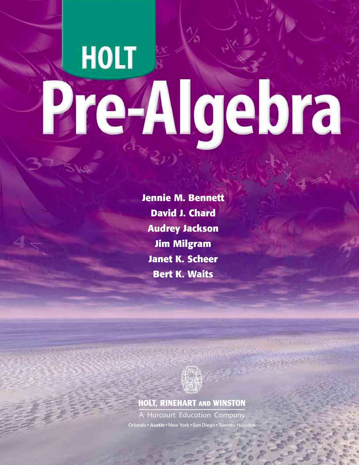 Holt Algebra 1 Textbook Page 552 Answers