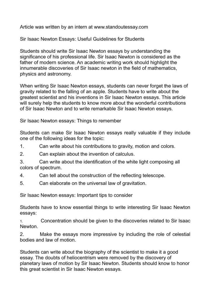 English Essay Introduction Example Isaac Newton Essay In Hindi Infoletter Co Essays On Science Fiction also English Essays For Kids Isaac Newton Essay In Marathi  Mistyhamel High School Application Essay Sample