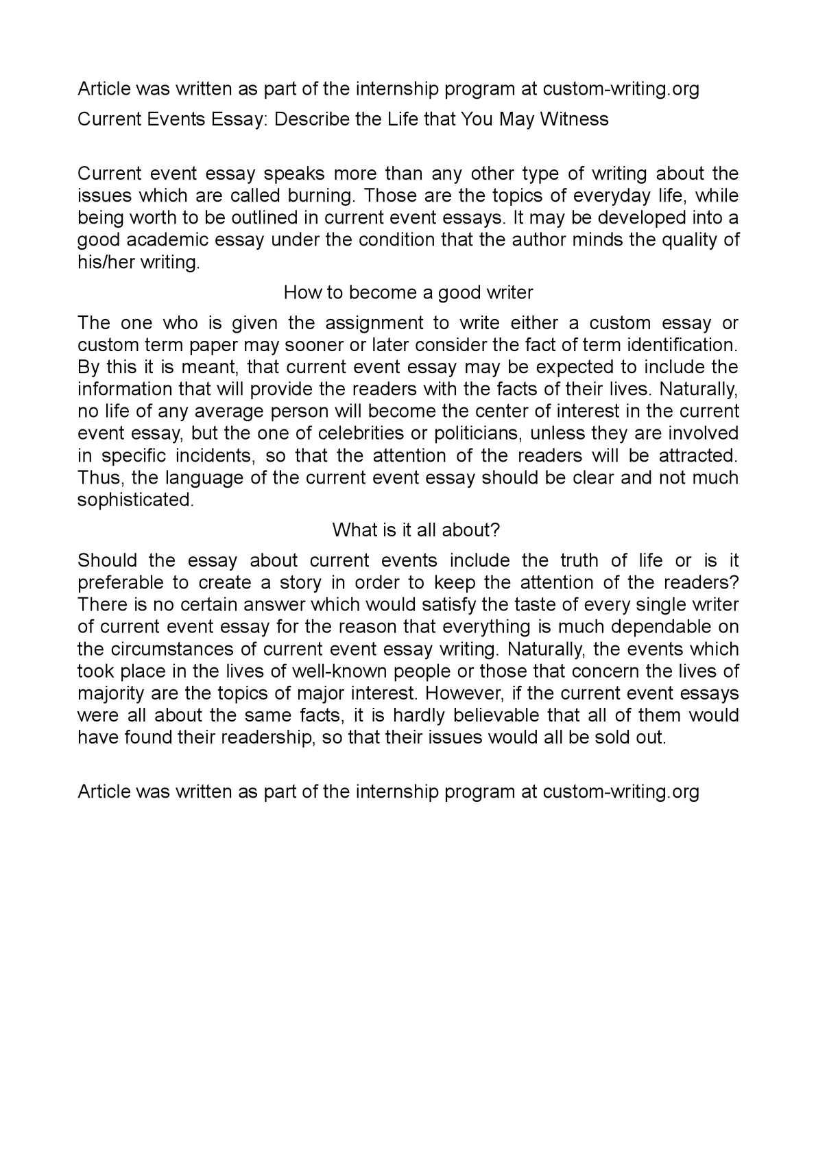 Describing An Event Essay How To Write A Descriptive Essay 02 28