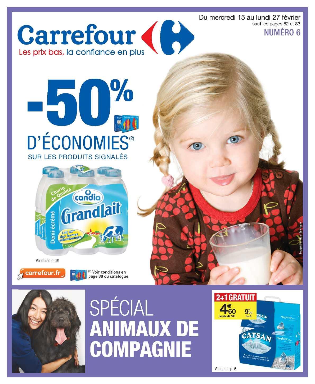 calameo catalogue carrefour