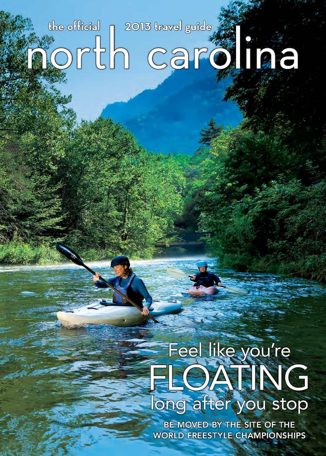 Calam 233 O 2013 Official North Carolina Travel Guide