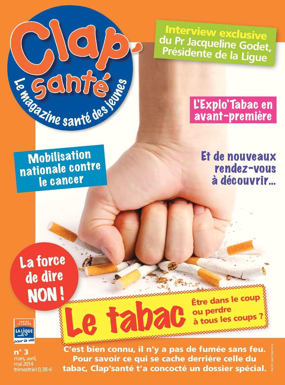 """Résultat de recherche d'images pour """"clap santé tabac"""""""