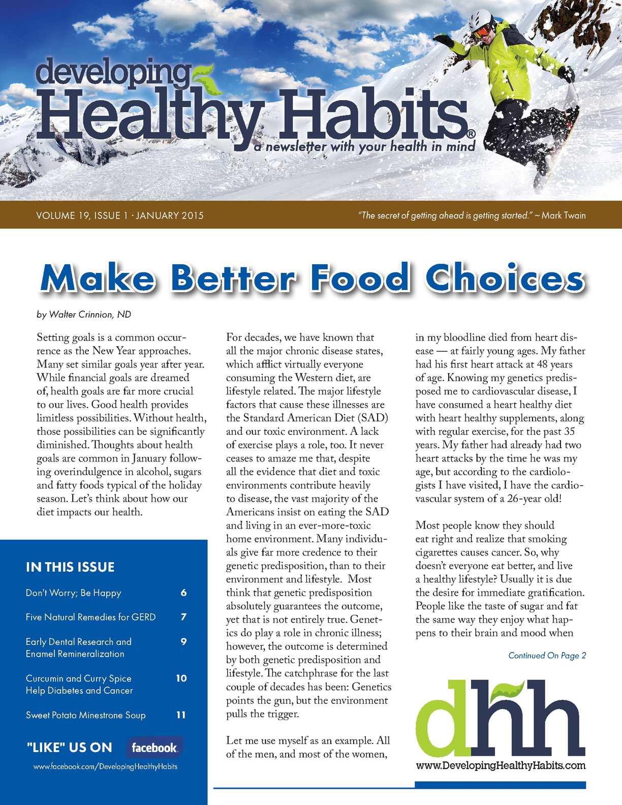 Developing Healthy Habits Worksheets