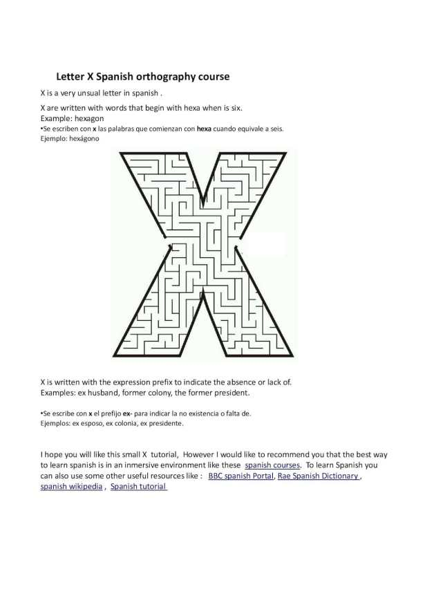 Imgenes De What Are Some Words That Start With X In Spanish