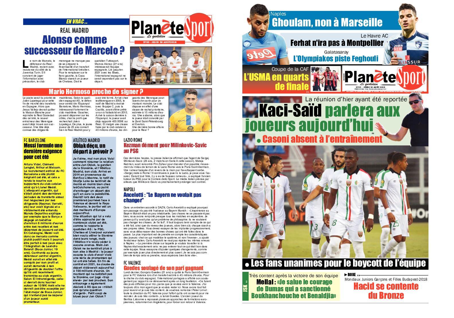 Une référence au succès français à la coupe du monde 2018, mais aussi à l'expression «c'est reparti comme en 14», répandue en france depuis le. 30 08 18 Calameo Downloader