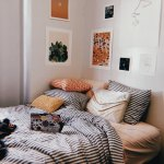 Bedspread Aesthetic Bedroom And Stripes Image 6880065 On Favim Com