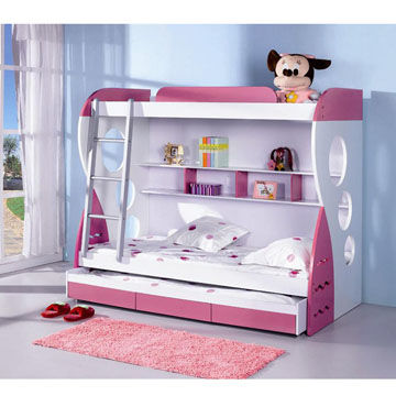 China Multi Function Bed In Double Deck Design Suitable