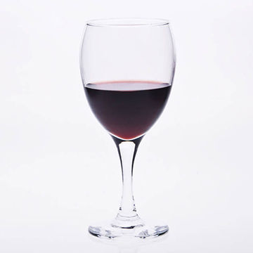 China Wholesale 300ml Cheap Crystal Glass Goblets Red Wine Glasses Set Of 2