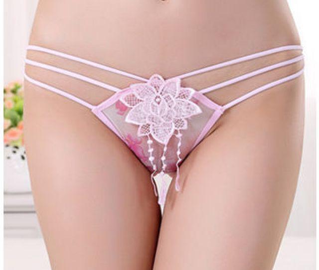 China Pink Womens Panties Underwear Fashion Girls Brief Sexy Underpants
