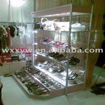 glass shoes rack global sources